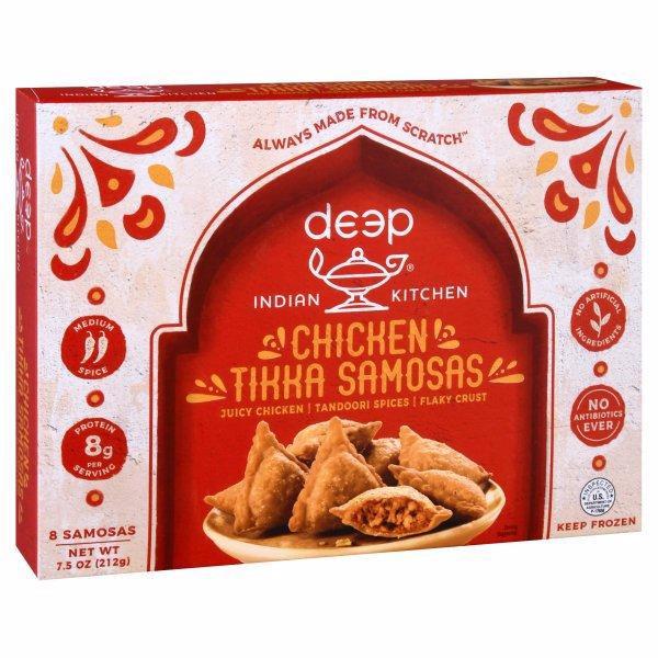 Deep Indian Kitchen Tikka Samosas Chicken Medium Spice Wegmans