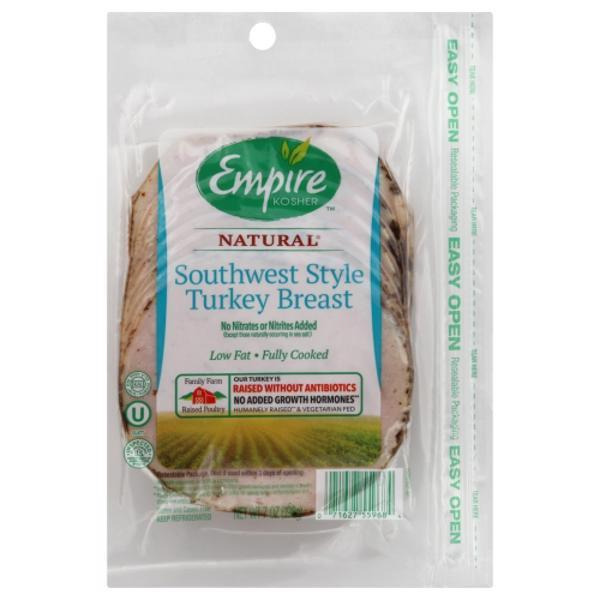 Empire Kosher Turkey Breast Southwest Style Low Fat Classic Wegmans