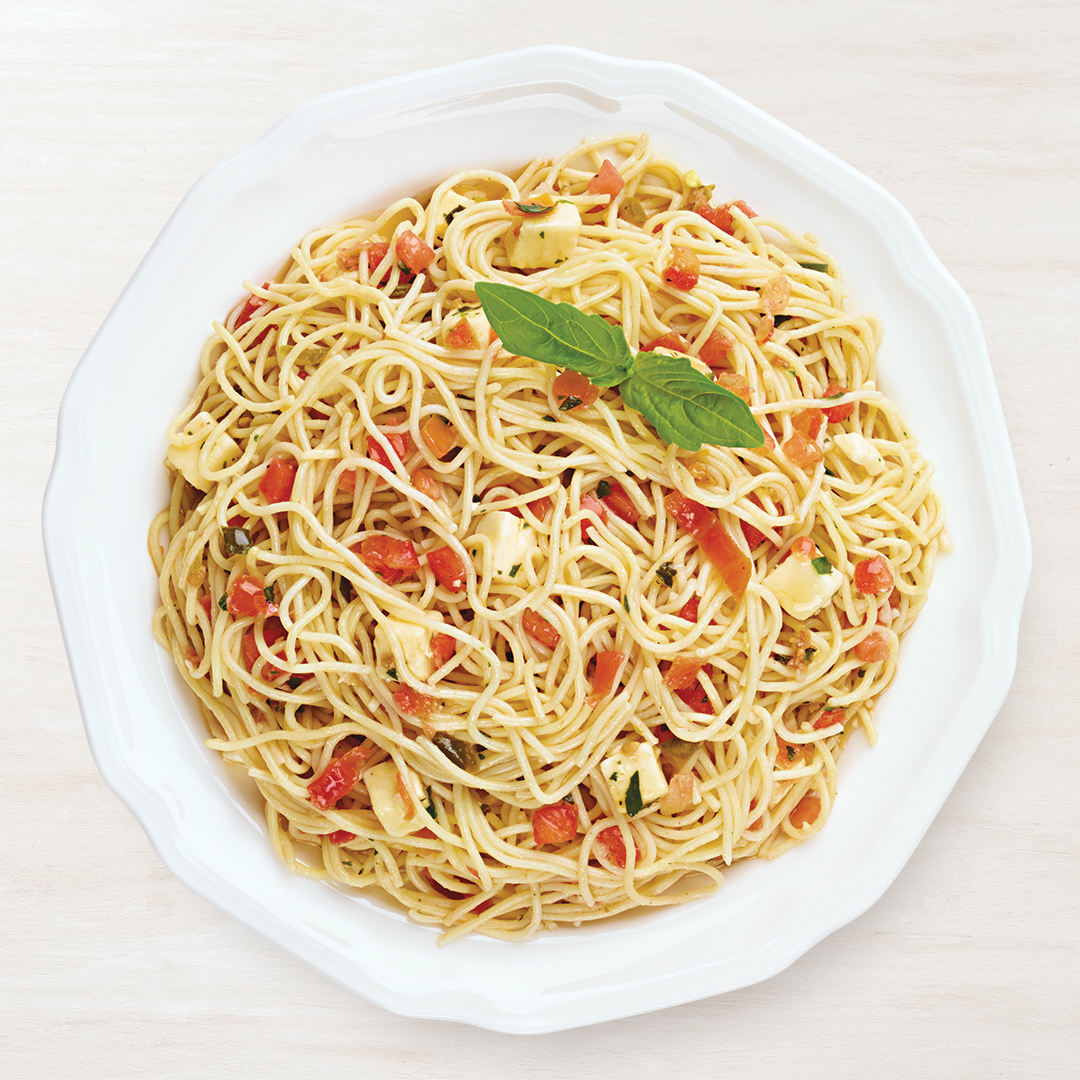 Capellini Asiago Salad Recipe Wegmans